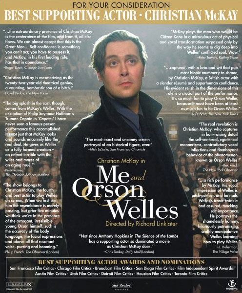 Christian McKay - Me and Osrson Welles