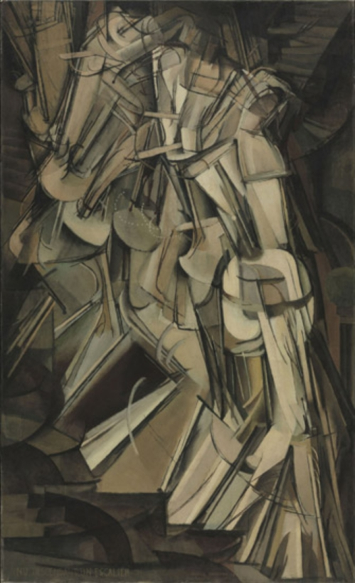 Marchel Duchamp - Nude Descending A Staircase