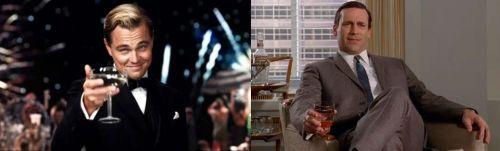 Gatsby and Draper