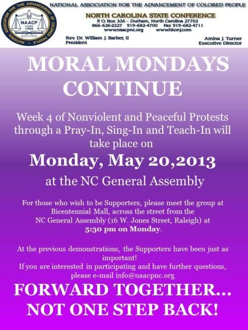 Moral Mondays