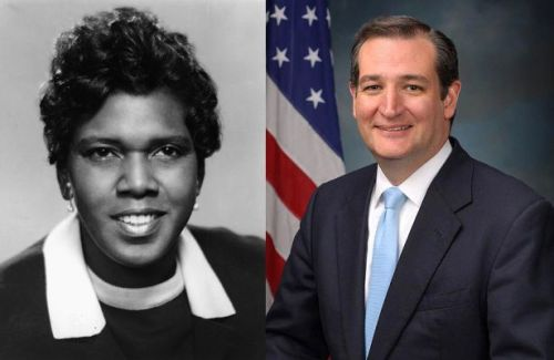Barbara Jordan - Ted Cruz