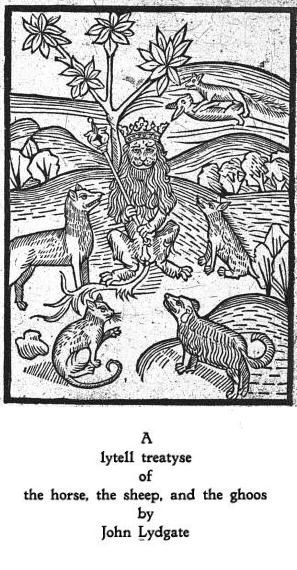 Lydgate - Horse, Sheep and Goose