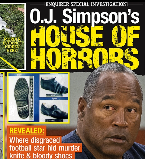National Enquirer - O.J.
