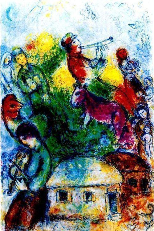 Shofar - Chagall