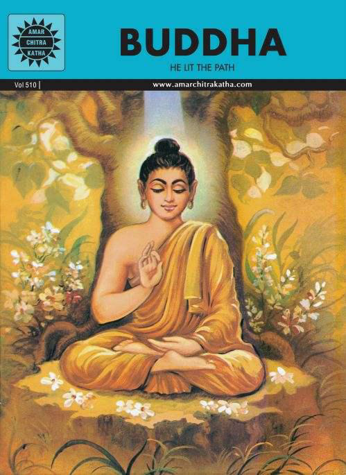 Buddha Comic Cover