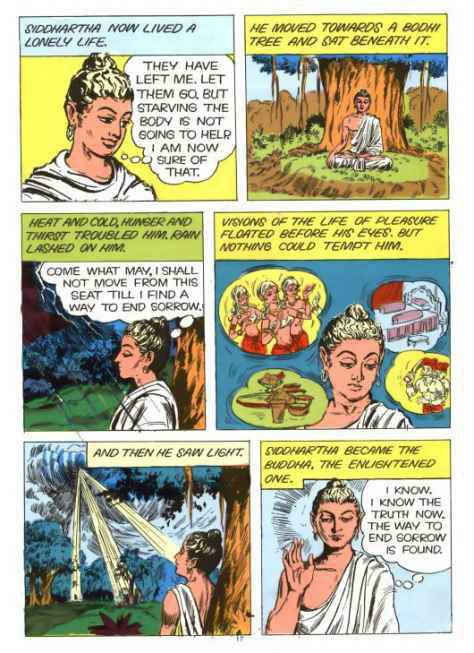 Buddha Comic Enlightenment