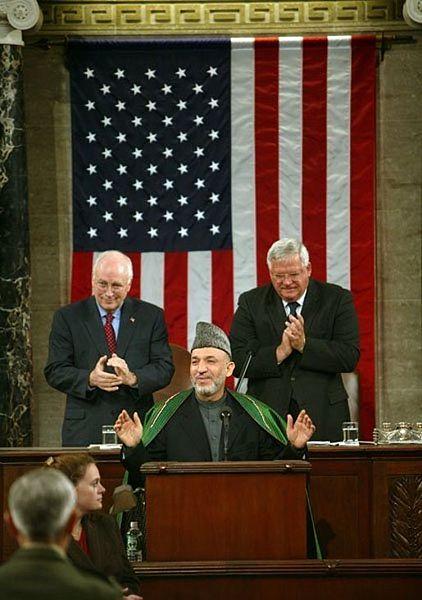 Hamid Karzai - Congress