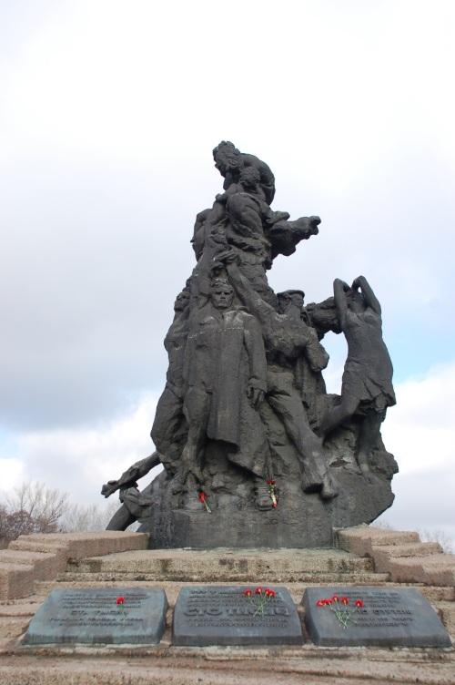 Babi Yar Momument Kiev