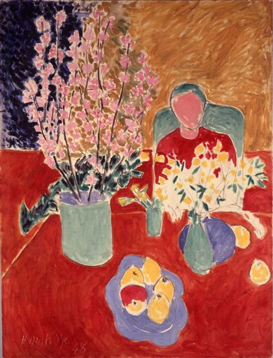 The Plum Blossoms - Henri Matisse