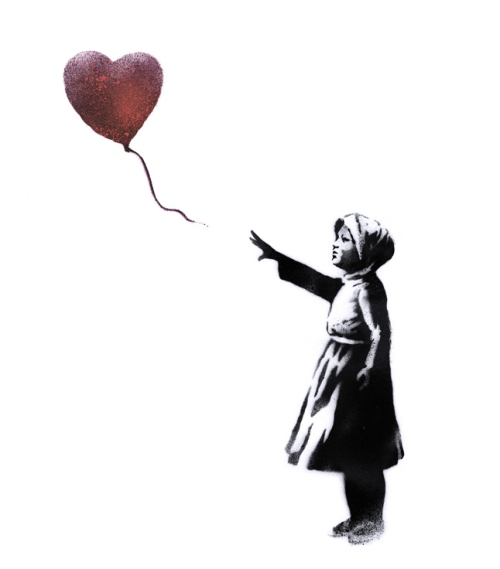 With Syria by Banksy
