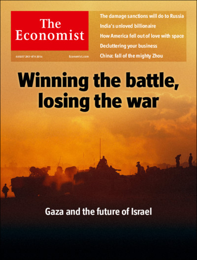 Economist - Israel and Gaza