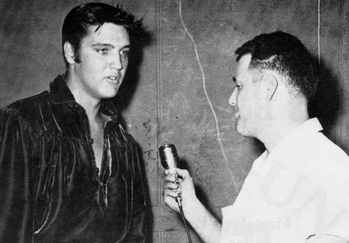 Jack Cristil and Elvis