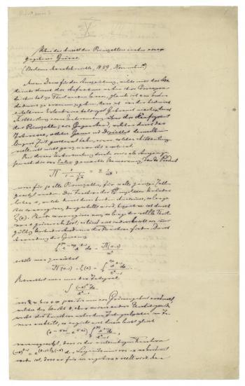 Riemann - Zeta Function