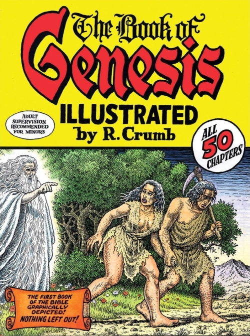 Genesis Illustrated Cover