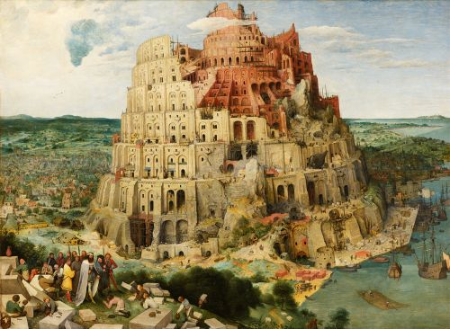 Tower of Babel - Bruegel the Elder