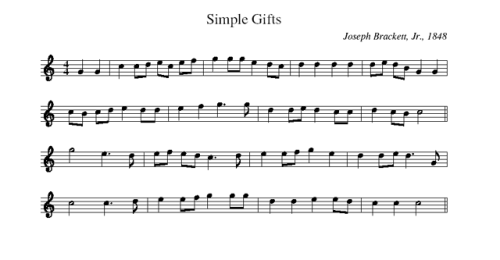 SimpleGifts