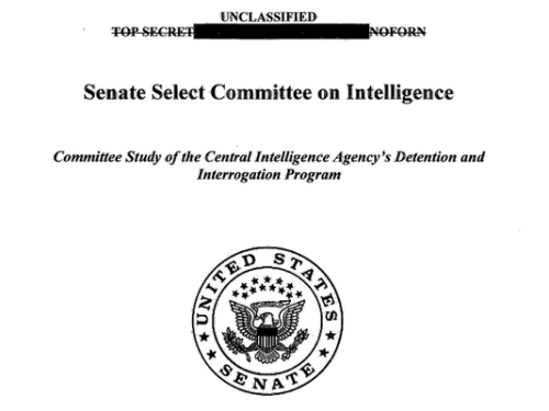 Senate Intelligence Committee Report