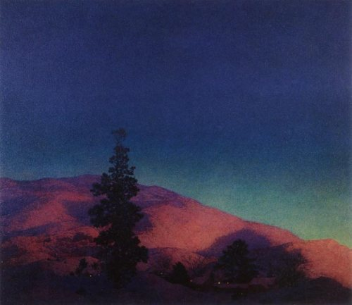 Maxfield Parrish - Winter Twilight