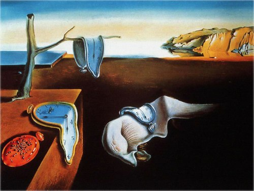 Salvador Dali - The Persistence of Memory