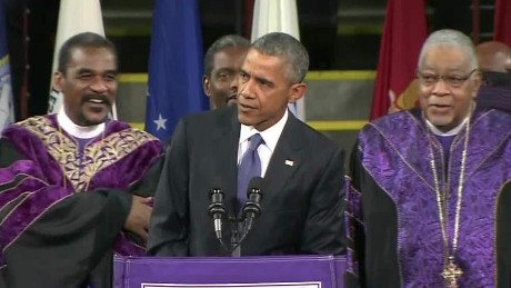 Obama Charleston Eulogy