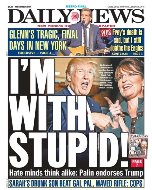 I'm With Stupid!