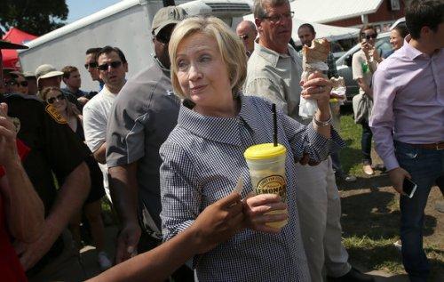 Hillary Iowa State Fair