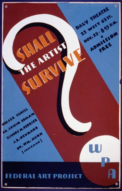 WPA - Shall the Artist Survive
