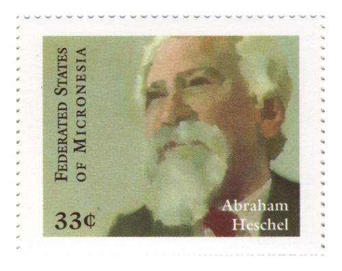 Heschel Stamp