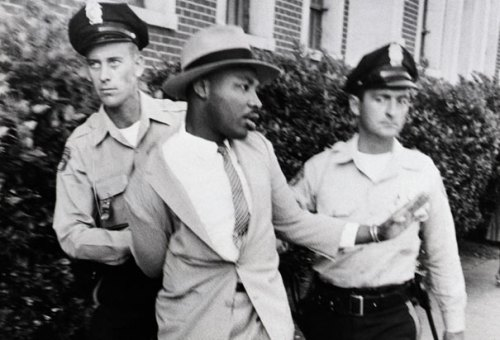 mlk-arrested