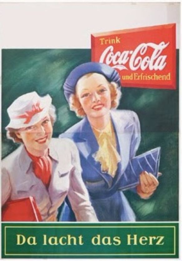 The Seeming Normal: Coca-Cola Ads from Germany 1938-1939