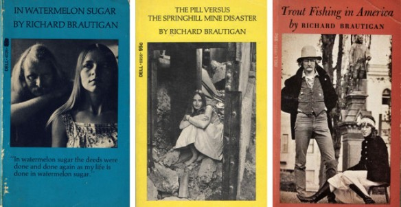 Image result for richard brautigan book covers""